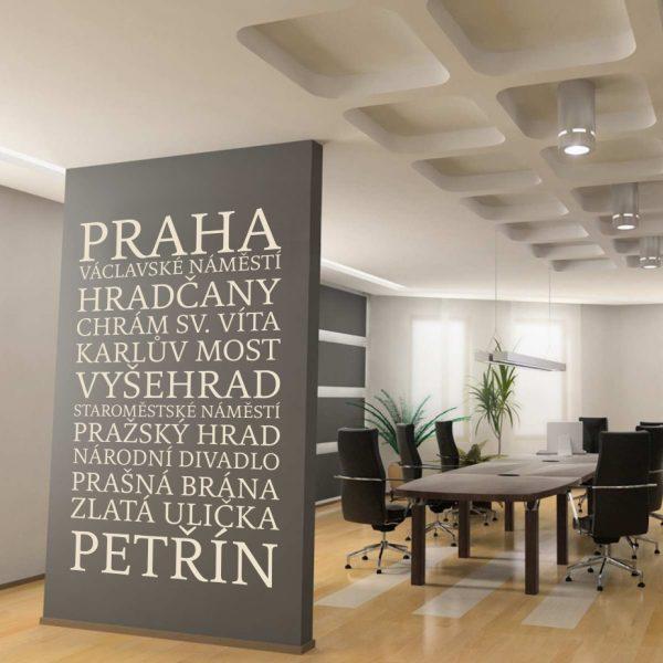 Praha text